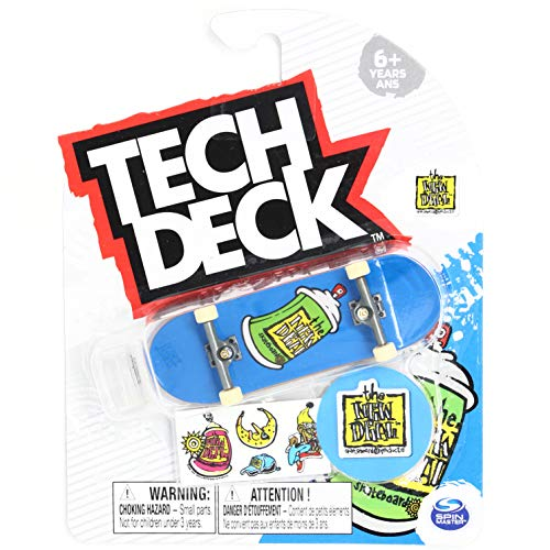 Tech-Deck The New Deal Skateboards Spray Can Blue 2020 Complete 96mm Fingerboard