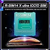 ACHICOO スリムカード RSIM14 12 R-SIMナノロック解除カード iPhone XS MAX/XR/XS / 8/7/6 4G iOS 12 11用