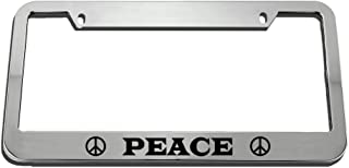 Anwei License Plates No Mortgage No Boss Retired License Plate Cover Novelty Metal Aluminum Decorative Auto Car Tag Front 4 Holes 12 x 6