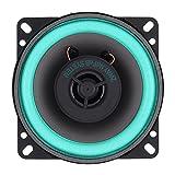 Dounan Altavoz Del Coche,Altavoz coaxial de alta fidelidad Universal para coche de 4 pulgadas y 100 W, altavoz de frecuencia de rango completo estéreo de música de o automático para puerta de vehículo