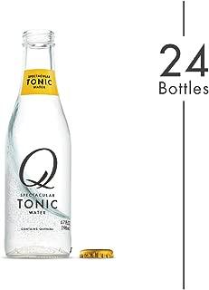 Q Mixers Tonic Water, Premium Cocktail Mixer, 6.7 oz (24 Bottles)