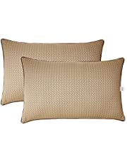 Amazon Brand - Solimo 2-Piece Premium Bed Pillow Set