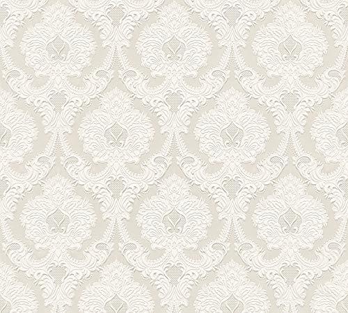 A.S. Création 764034 7640-34 Concerto 3 Papier peint avec ornements baroques Beige 10,05 x 0,53 m