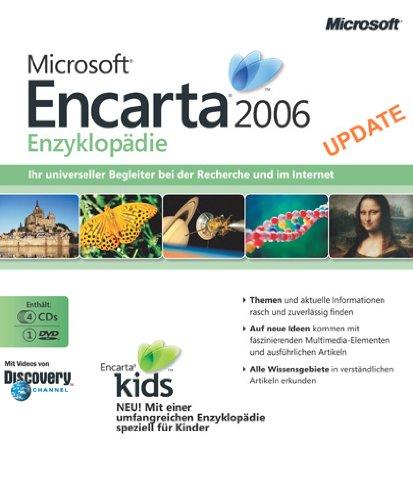 Microsoft Encarta Enzyklopädie 2006 Upgrade (DVD-ROM + CD-ROM)