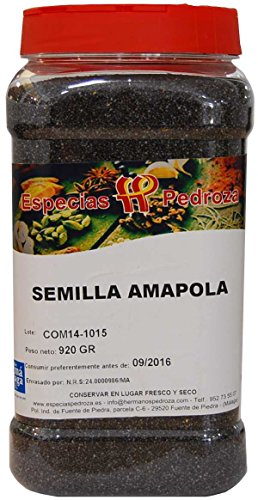 Semilla de Amapola Natural 920 G