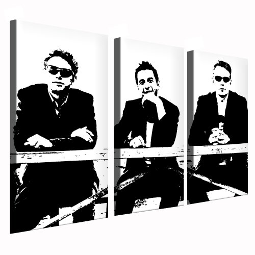 Bilder Kunstdrucke/Boikal/Bild mit Keilrahmen Depeche Mode 120x80 cm 3 Teile XXL.272