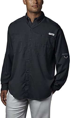 Columbia Hommes's Plus Tamiami II manche longue Shirt, noir - 2X Big