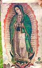 Our Lady Mary Virgin of Guadalupe Image Tapestry - Family Size Replica - Nuestra Senora Maria Virgen de Guadalupe - Faux Cactus Fibre Cloth Tilma 20 x 30 in. (Not a Poster)