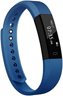 Activity Tracker, Slim Waterproof Fitness Tracker Watch with Pedometer Calories and Sleep Monitor, Step Counter Wristband Smart Watch for Kids Women Men