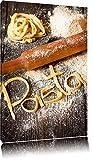 Frische Nudeln Pasta Italia Format: 60x40 auf Leinwand, XXL
