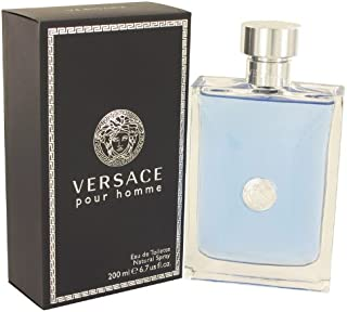 Pour Homme by Versace Eau De Toilette Spray 6.7 oz -100% Authentic
