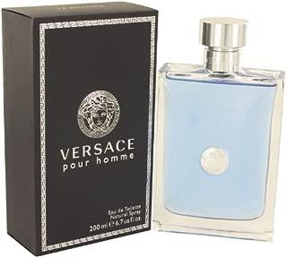 Versace Pour Homme by Versace Eau De Toilette Spray 6.7 oz -100% Authentic