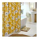 Knbob Duschvorhang Deko Sonne Blume Mehrfarbig Badezimmer Vorhänge 200X220Cm