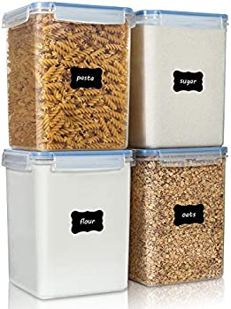 4-Pieces Vtopmart Large Food Storage Containers