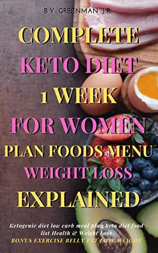 ketogenic diet womens health weekly meal