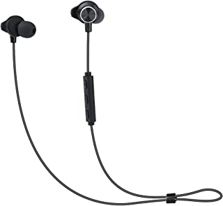 Fengyuan Bluetooth Headphones Ultra-Light Metallic Magnetic Deep Bass Wireless in Ear Nano Coating Sweatproof Sports Stereo Earbuds with Built-in Mic