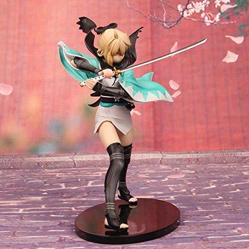 SXXYTCWL Action-Figur Fate Stehen Sakura Saber Okita Souji Samurai animierte Figur Modell Sammler Statue jianyou