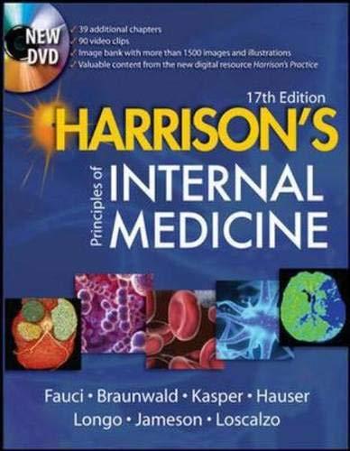 Harrison's Principles of Internal Medicine, w. DVD-ROM