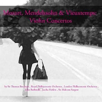 Mozart, Mendelssohn & Vieuxtemps: Violin Concertos
