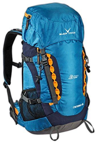 Black Crevice Touren Rucksack, Cheyenne 45L, Trekking, Outdoor, Backpack; BCR241001; blau