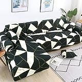 PPMP Muebles de Sala de Estar Funda de sofá de poliéster elástico Funda Protectora Funda de sofá sillón Funda de sofá A24 2 plazas