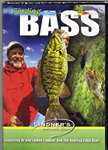 FINDING BASS | Lindner's Angling Edge | Bass Fishing DVD New