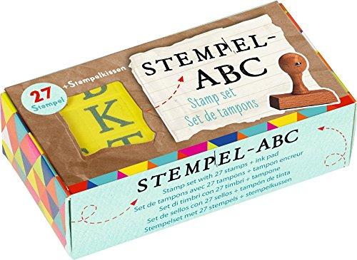 DIE SPIEGELBURG 13349 ABC-Stempelset Bunte Geschenke
