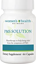PMS Solution by Women's Health Network - Natural PMS Relief with Herbal Based Hormonal Support (1 Bottle)