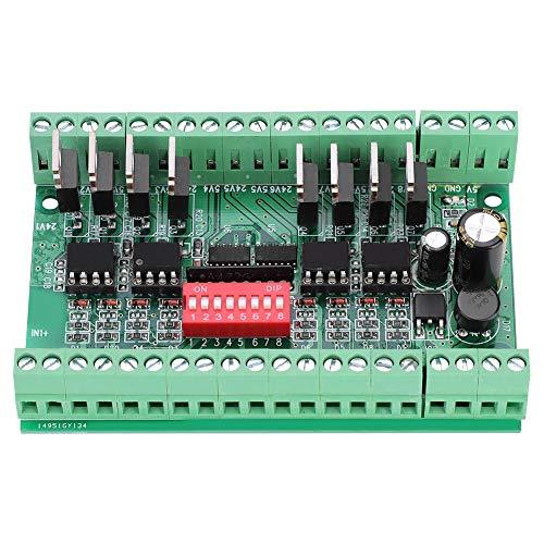 10MHZ Convertidor de nivel Módulo,conversión de señal de 8 canales de NPN/PNP a NPN 5V / 24V
