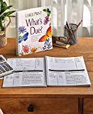 What's Due? Large Print Spiral Bound Personal Monthly Finance Organizer
