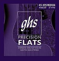Ghs - Cordes basse electrique - Precision faltwound reg.55-105