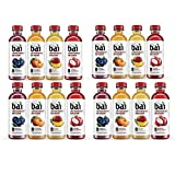 QAWS Bai Flavored Water, Rainforest Variety Pack, Antioxidant Infused Drinks, 18 Fluid Ounce Bottles, 12 count (Rainforest Variety Pack, 4 Pack of 12)