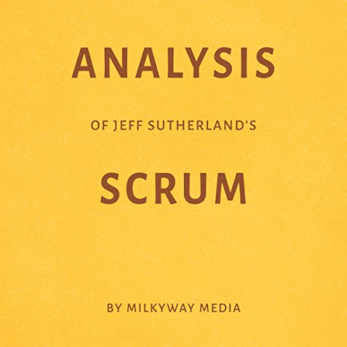 Analysis of Jeff Sutherland's Scrum audiobook cover art