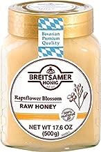 Breitsamer Rapsflower Blossom Honey Jar, 17.6 Ounce (Pack of 6)