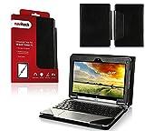 Navitech Housse étui en Simili Cuir Compatible avec Acer Aspire Switch 10 SW5-011-18MX PC Portable Hybride Tactile 10,1'