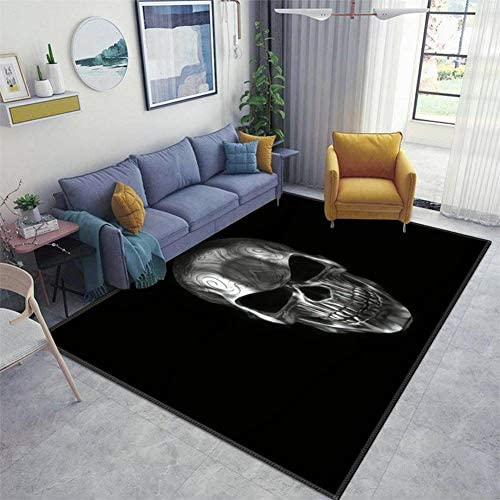 3d skull carpet _image0