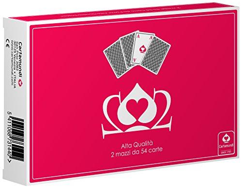 Cartamundi Carte Poker 202 Mazzo di Carte da Gioco, Gioco di società, Astuccio Doppio