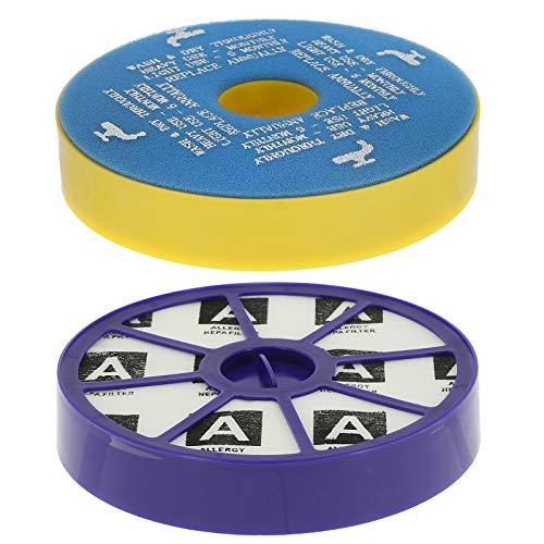Qualtex - HEPA- und Vormotor-Nachfilter für Dyson DC05 und DC08 Staubsauger