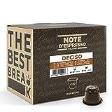 Note d'Espresso - Deciso - Cápsulas de Café - Compatibles con Cafeteras NESPRESSO* - 100 caps
