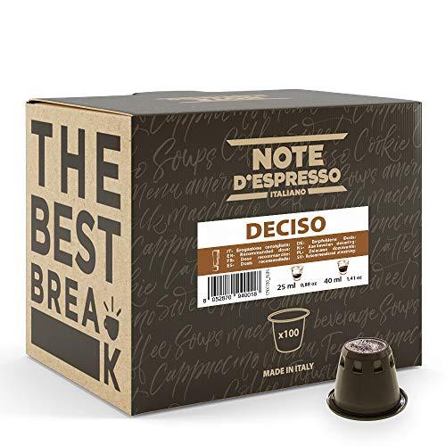 Note d'Espresso - Deciso...