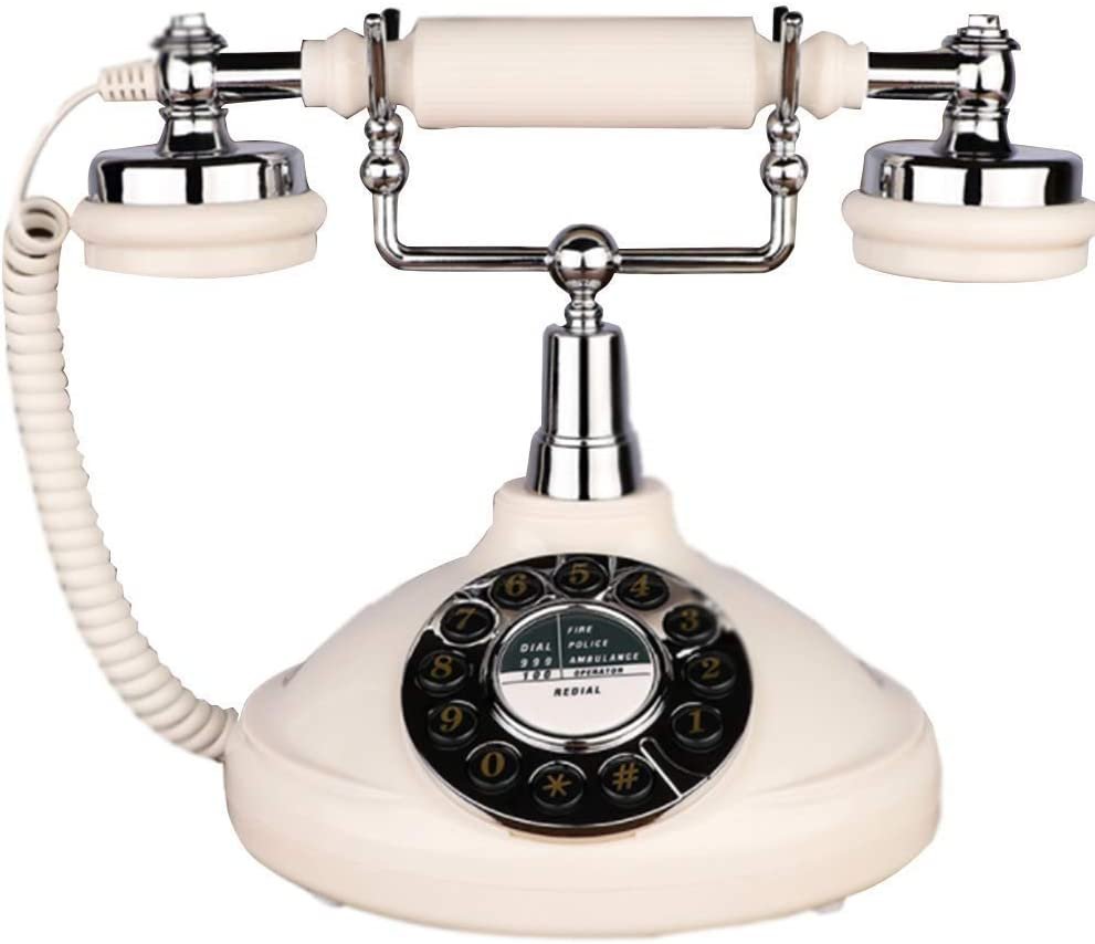 SXRDZ Phone Nordic Purchase Retro Home New product!! Butto Office US Telephone Landline