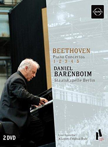 Beethoven: Klavierkonzerte 1-5 [2 DVDs]