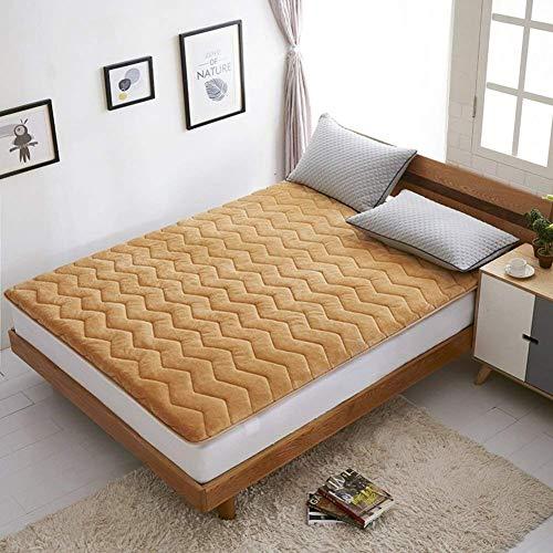 ZXL Antislipmat voor de vloer van Tatami, dikke antislipmatras, duurzaam en zacht, traditionele Japanse futonmatras, voor Dormit