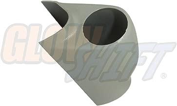 GlowShift Gray Single Pillar Gauge Pod for 2002-2007 Subaru Impreza WRX STI - Factory Color Matched - ABS Plastic - Mounts (1) 2-1/16