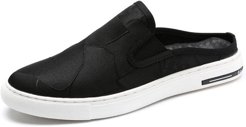 QIDI Casual shoes Male Breathable Trend Canvas shoes Peas shoes (color   T-2, Size   EU39 UK6)