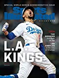 """Dodgers Huge 13"""" by 17"""" Sports Illustrated 2020 World Series Cover"""