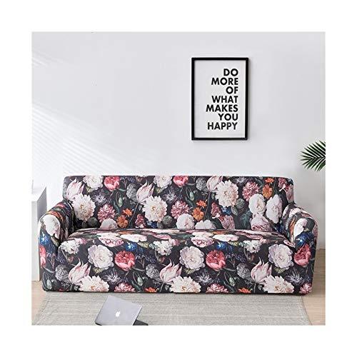 ZHAO Elastische Sofa-Abdeckung für Wohnzimmer, Moderne Sektional-Ecke Sofa Slipcover Sessel Couch Coude 1/2 / 3/4-Sitzer (Farbe : Color 15, Specification : 1 seat 90 140cm)