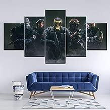 Rainbow Six Siege Faceoff Poster Canvas Art Print 76x50cm