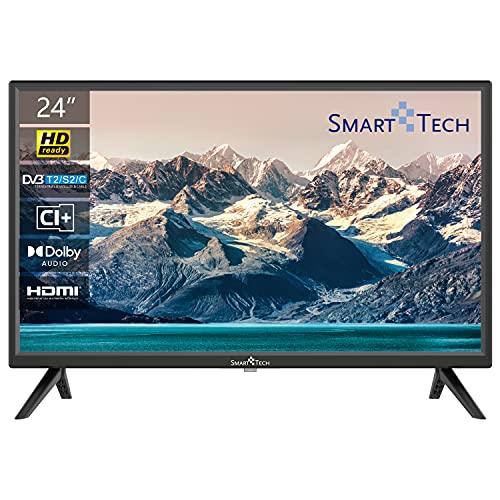 TV LED HD Ready 24 Pollici DVB-T2/DVB-S2