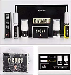 New Iconsign Premium High Quality Eyebrow Lamination Perming and Lifting Kit with Tools